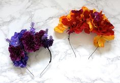 Floral Headbands   36 Totally Easy DIY Projects To Try In 2016