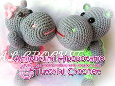 Patrón amigurumi gratis de pareja de hipopotamos. Espero que os guste tanto como a mi! Idioma: Español Visto en la red y colgado en mi pagina de facebook: Os pongo también su foto para que veáis co…
