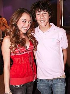 fact: Nick Jonas had his first kiss with Miley