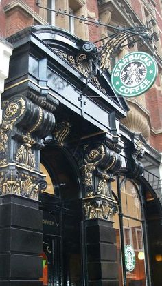 Starbucks in London.