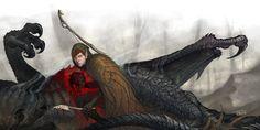 DnD: It's What's Inside by *gorrem  à suivre sur DeviantArt ici : http://gorrem.deviantart.com/art/DnD-It-s-What-s-Inside-104412621  Brrrr, entre le dégoût et la peur. (Illustration pour Donjon et Dragon)