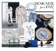 """Designer for a day"" by cybelfee ❤ liked on Polyvore featuring moda, Arche, TIBI, H&M, Monki, Givenchy, Yves Saint Laurent, women's clothing, women y female"