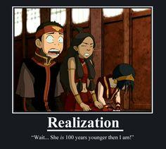 Aang Katara Toph Spoiler-jpg-avatar-the-last-airbender well, it wasn't THAT bad Avatar Aang, Avatar Airbender, Avatar Funny, Team Avatar, Avatar Cartoon, Avatar The Last Airbender Funny, The Last Avatar, Satire, Otaku