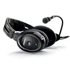 Bose A20 Aviation Headset with Bluetooth 5-Pin XLR Plug Cable, Black *** Check out the image by visiting the link.