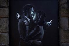 1 | When It Comes To Smartphone Addiction, Banksy's Got Your Number | Co.Create | creativity + culture + commerce