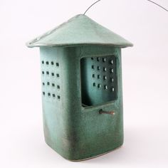 Bird Feeder Weathered Bronze Glaze by cherylwolffgarden on Etsy, $80.00