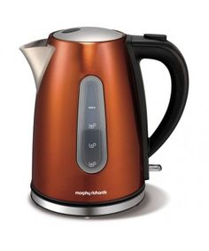Morphy Richards Copper Accents Kettle & Toaster Set Copper Like It s Hot Pinterest Copper ...
