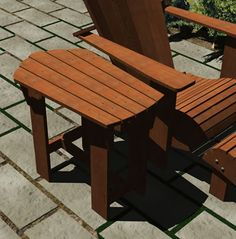 Adirondack Furniture – Good For Any Patio Décor Adirondack Chair Plans, Adirondack Furniture, Outdoor Furniture, Diy Furniture Projects, Diy Furniture Plans, Furniture Design, Sheesham Wood Furniture, Diy Sofa, Table Plans
