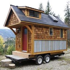 Tiny House Acorn by Nelson Homes http://www.bobvila.com/tiny-house/33953-16-tiny-houses-we-love/slideshows#!0