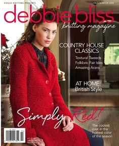 Debbie Bliss - Knitting Magazine 3 - Fall/Winter 2009 | Martinas Bastel- & Hobbykiste