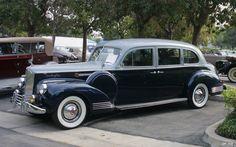 1941 Packard 180 LeBaron Limousine - Silver French Gray Metallic Duco & Barola Blue Metallic Duco