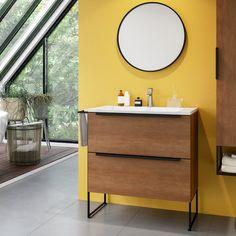 Wooden Vanity Unit, Wood Vanity, Single Vanity Units, Free Standing Vanity, Upstairs Bathrooms, Downstairs Loo, Wall Mounted Vanity, Mirror Cabinets, Bathroom Cleaning