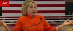 Hillary Clinton Compares GOP Candidates to Terrorists for Their Views About Women