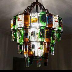 The boys chandelier