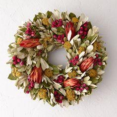 Amaranth & Protea Wreath