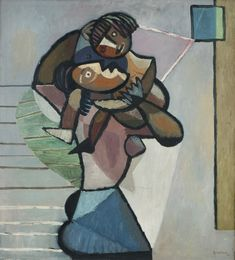 Thore Heramb, Eline og Randi 1948 Painting, Art, Art Background, Painting Art, Paintings, Kunst, Drawings, Art Education