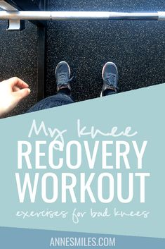 My knee recovery workout. Here's some of the exercises I'm doing to come back…