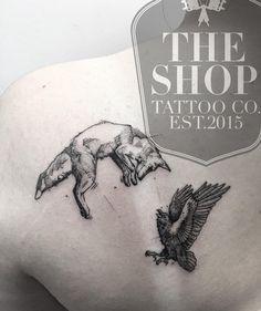 The Shop Tattoo Co best tattoo shop in toronto fox tattoo fox and crow tattoo geometrical tattoo