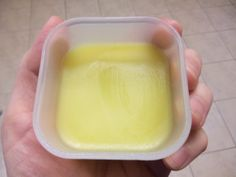 Homemade Lip and Body Balm - made with bees wax and essential oils for healthy lips and skin
