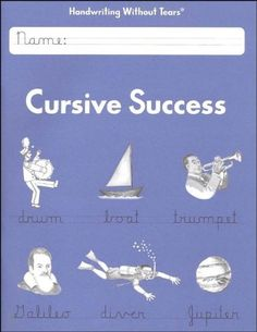Cursive/Handwriting Without Tears: Cursive Success 3rd Grade Books, Handwriting Books, Handwriting Without Tears, Homeschool Curriculum Reviews, Primary Teaching, Fun Learning, Learning Cursive, Student, Success