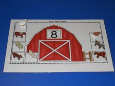 Learning numbers with farm animals