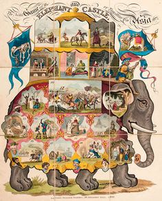 The Noble Game of the Elephant and Castle or Travelling in Asia 1822 (Christies) | Flickr - Photo Sharing!