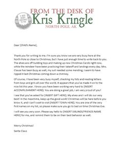 Naughty list warning notice from santa free printable free free printable letters from santa christmas northpole spiritdancerdesigns Gallery