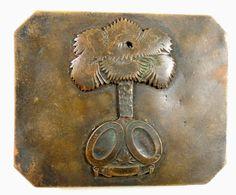 South Carolina palmetto belt plate, Relicman