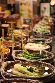 Nishiki Food Market, Kyoto, Japan