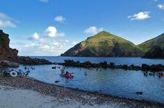 Fun day at the Cove Bay, Saba - Dutch Caribbean - Photo Credit: Eveline DeVree -