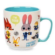 Zootopia Mug.  Available at the Disney Store.