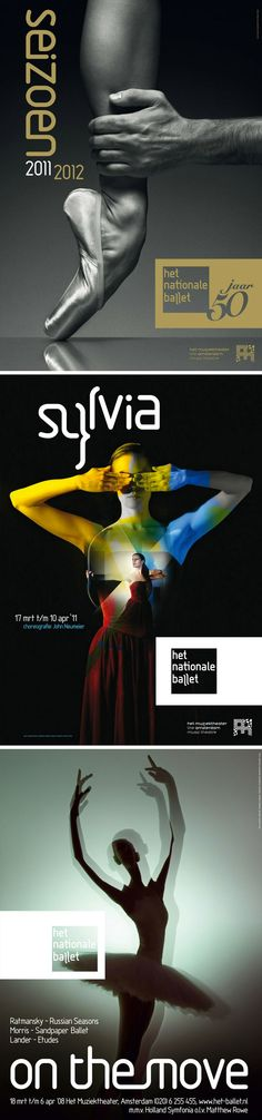 poster set | Het Nationale Ballet — Me Studio