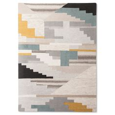 The Texture and Colorblock Area Rug from Project 62™ uses an asymmetrical stairstep pattern with various colors for maximum interest. This abstract area rug is a great way to protect your floors and warm up your room while bringing a modern accent to your space.<br><br>1962 was a big year. Modernist design hit its peak and moved into homes across the country. And in Minnesota, Target was born — with the revolutionary idea to celebrate design for all. Project 62 ...