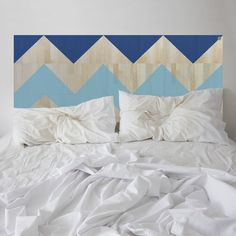 Inspired by the sea lapping the shore at Manly Beach. This ZIGGY headboard will be there for you through life's ups and downs!
