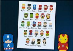 ABC superheroes