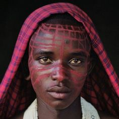Maasai man. Photography Project by Jimmy Nelson