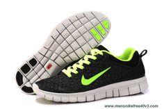 Discounts Nike Free 6.0 Black Green Mens