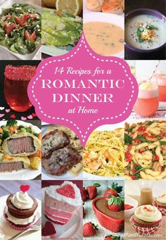 Romantic Dinner Ideas - Have a date night in with these perfect recipes for a romantic meal at home - Two More Minutes