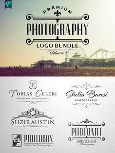 Premium Photography Logo Bundle by PenPal on @creativemarket