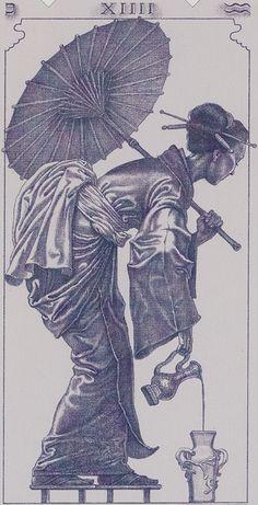 XIV. Temperance: Tarot of the III Millenium