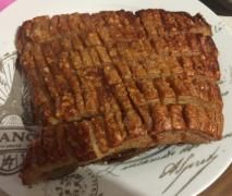 Twice cooked pork belly