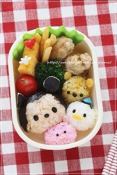 A Tsum Tsum bento box.