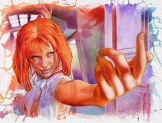 Fifth Element - Tegan Bellitta (aka Illusoryart) - ''Leleoo'' ----