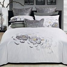 Silver Peony Bedding Collection by Park Avenue