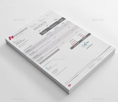 How To Do A Invoice 12 Best Print Templates Images On Pinterest  Print Templates .