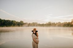 Foggy Sunrise Lifestyle Session // Maternity Snapshots // Dave + Becca — Rosey Red Photography | Wedding and Elopement Photography | Columbus Ohio