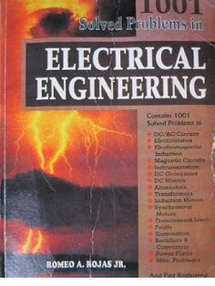 Here's a wide-ranging assortment of observe issues typical of the atomic number 26 examination in each respect. Basic Electrical Engineering, Mechanical Engineering, Body Name, Power Electronics, Electrical Problems, Electronic Books, Books To Read Online, Data Science, Problem Solving
