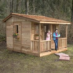 Outdoor Living Today 7x9 Cozy Cabin Playhouse - $2,974.00 + Free Delivery