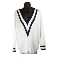 New product alert! Rag & Bone 'Talia... Click the link to shop http://encoreresale.com/products/rag-bone-talia-v-neck-knit-varsity-sweater?utm_campaign=social_autopilot&utm_source=pin&utm_medium=pin