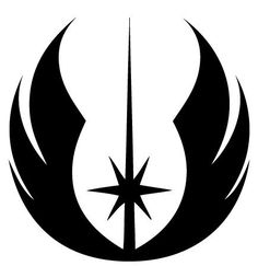 Jedi Order Symbol Die-Cut Decal Car Window by BeeMountainGraphics